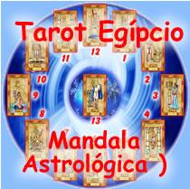tarot egipcio mandala astrologica